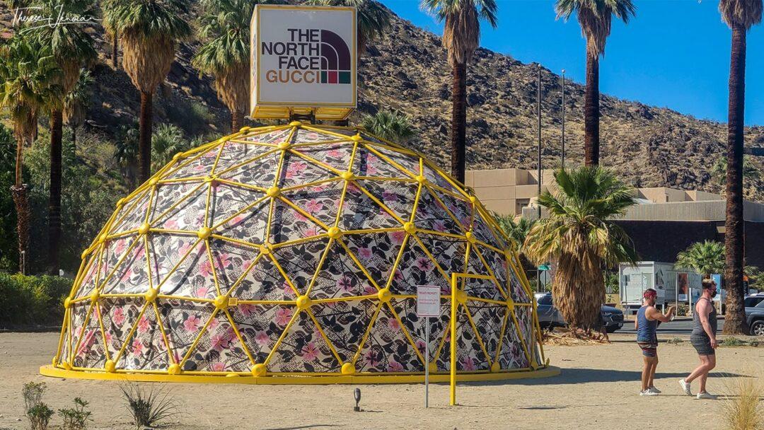 TNF Gucci Hub Desert X Outdoor Art