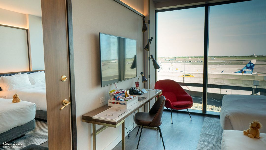 TWA Hotel Room Runway View Dumont