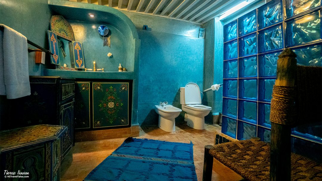 The Repose riad Chefchaouen bathroom