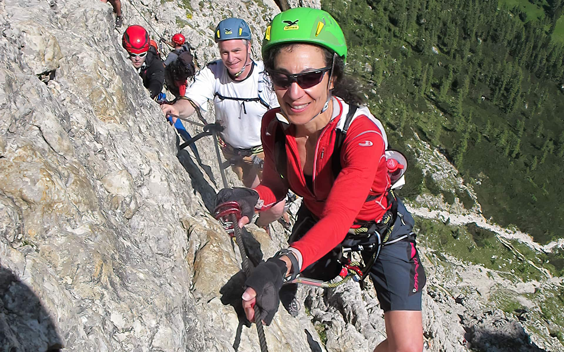 Therese Iknoian Dolomites Via Ferrata Tridentina