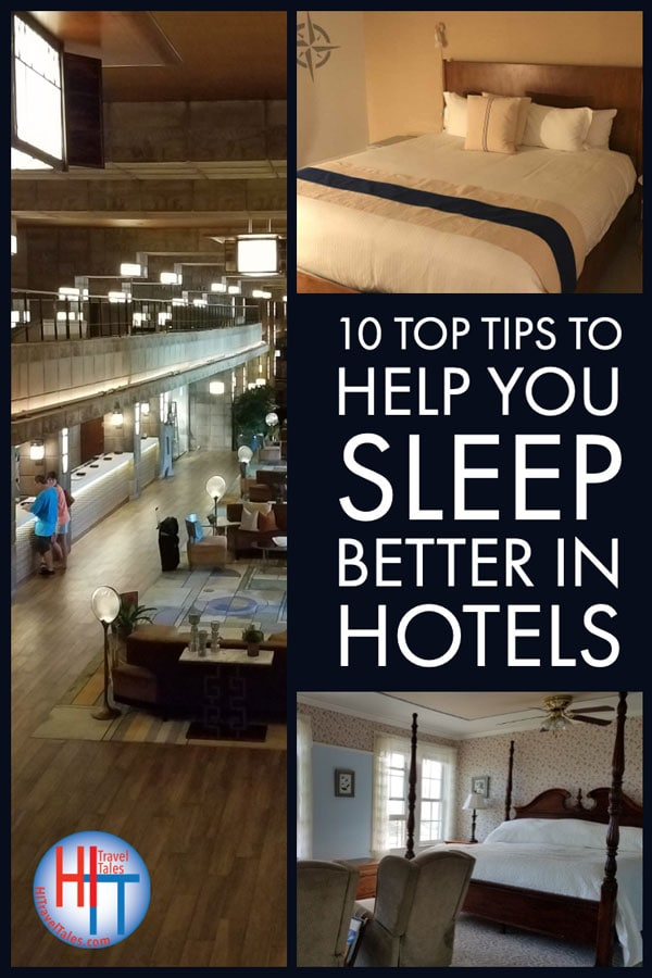 Tips To Sleep Better In Hotels