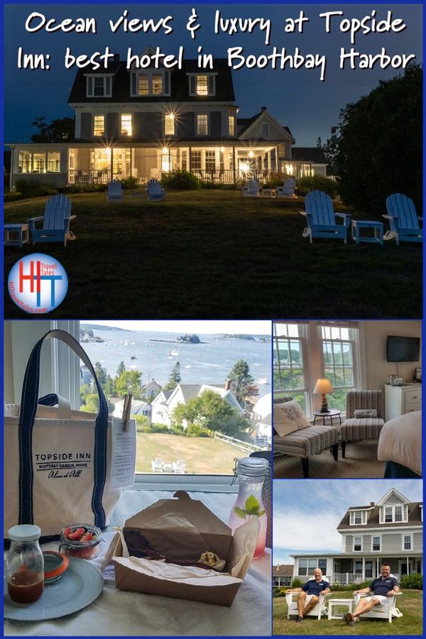 Topside Inn Best Hotel In Boothbay Harbor Maine