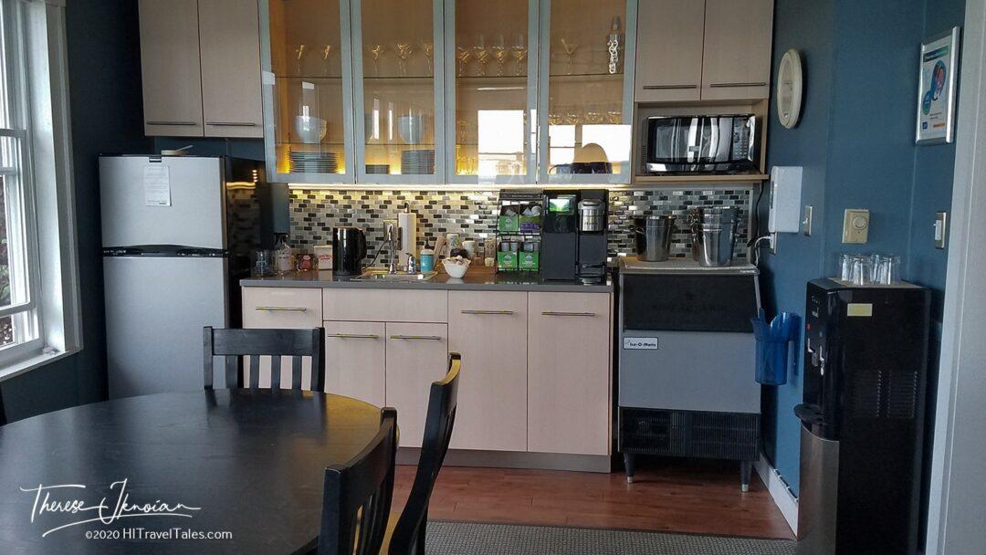 Topside Amenity Wall Kitchen