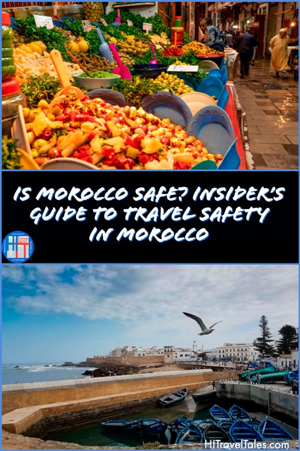 Travel safety in Morocco.
