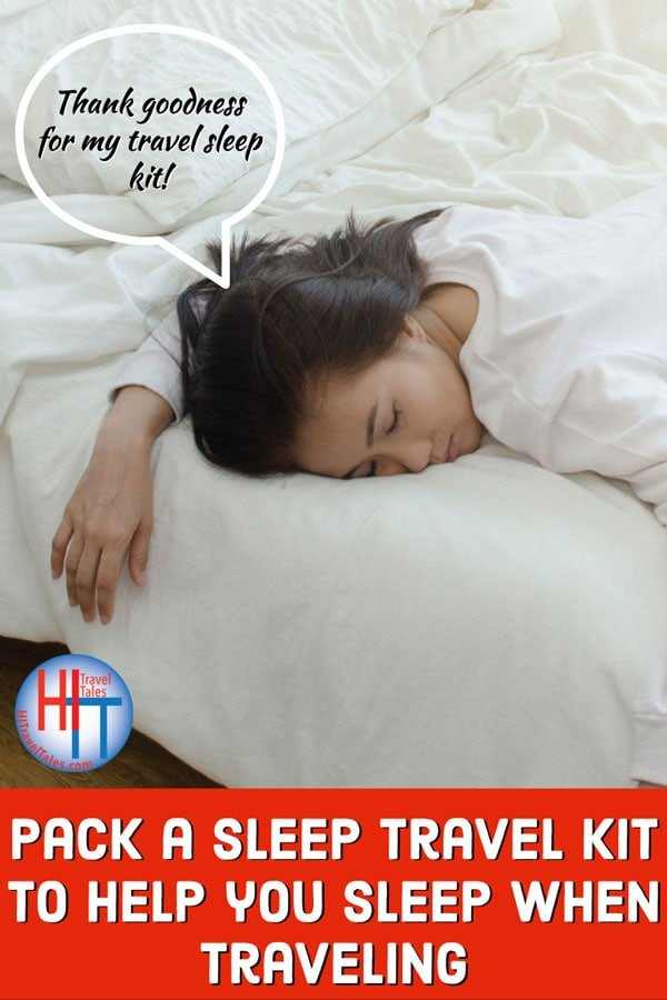 Travel Sleep Kit For Travelers