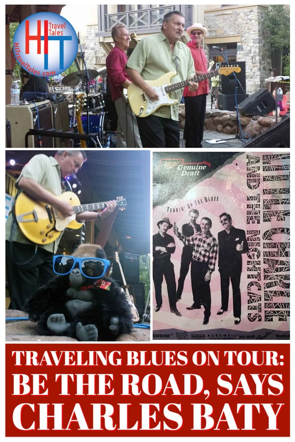 Traveling Blues On Tour Be The Road Says Charles Baty