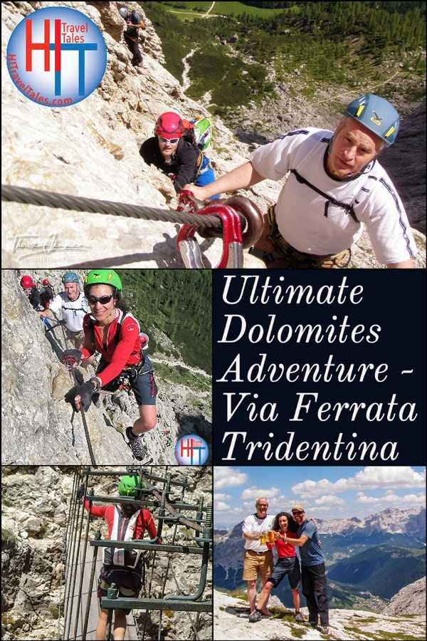 Ultimate Dolomites Adventure Via Ferrata Tridentina