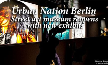 Urban Nation Berlin street art museum reopens with new exhibits