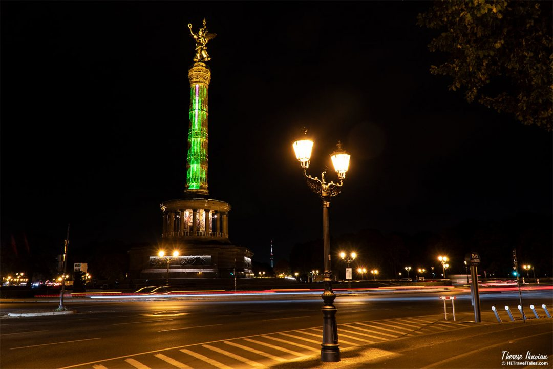 Victory Column Berlin Light Festival