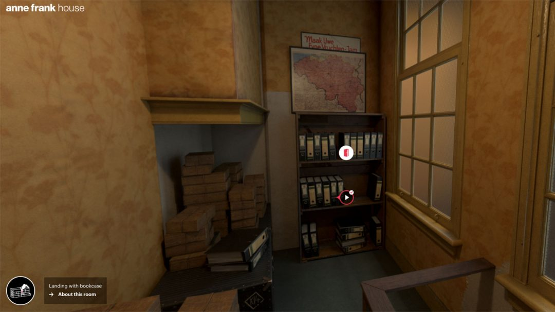Virtual Travel Anne Frank House Tour