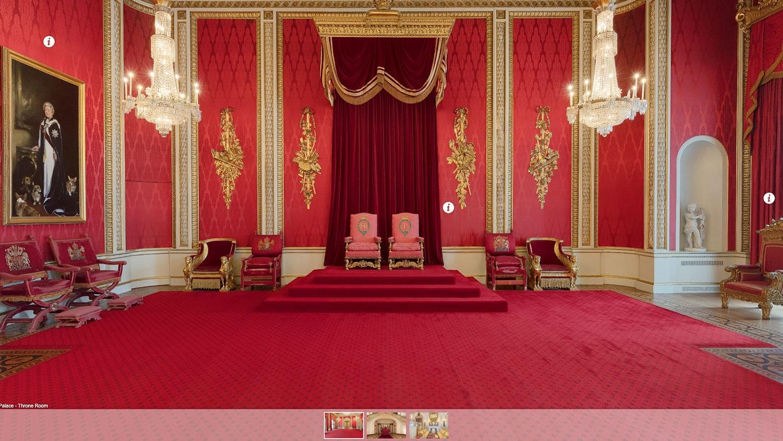 inside buckingham palace virtual tour - 989×548