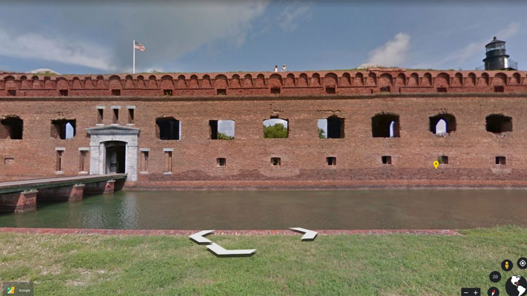 Virtual Travel Outdoors Dry Tortugas Florida