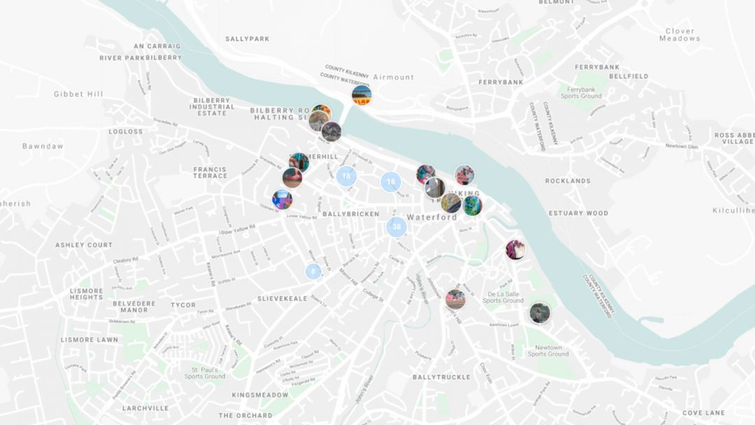 Virtual Travel Street Art Map