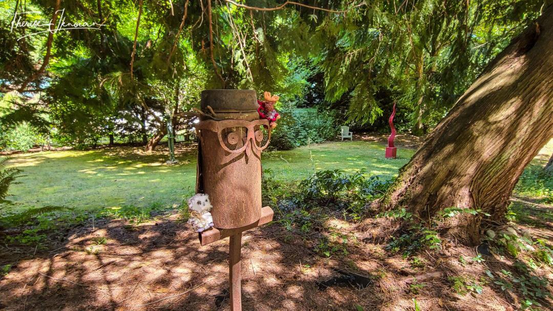 Visit Camano Island Sculpture Garden