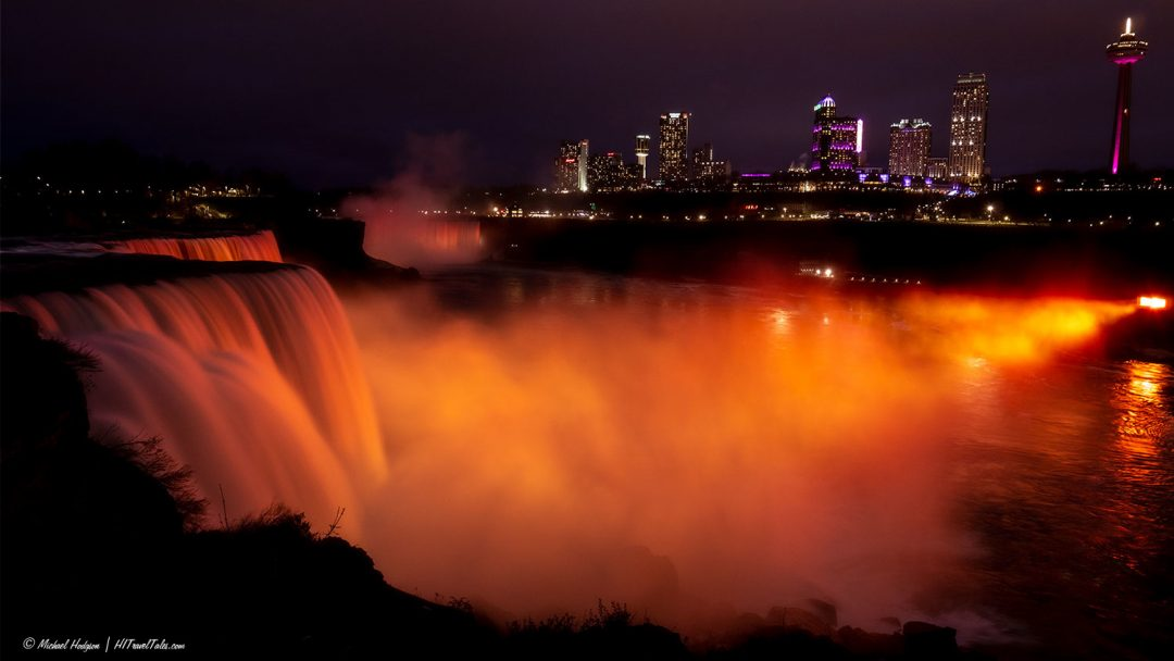 We Won Michael Niagara Illumination travel photography award