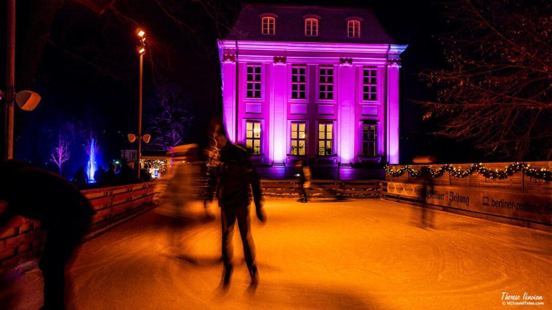 Weihnachten Im Tierpark Berlin Ice Skating Rink Castle