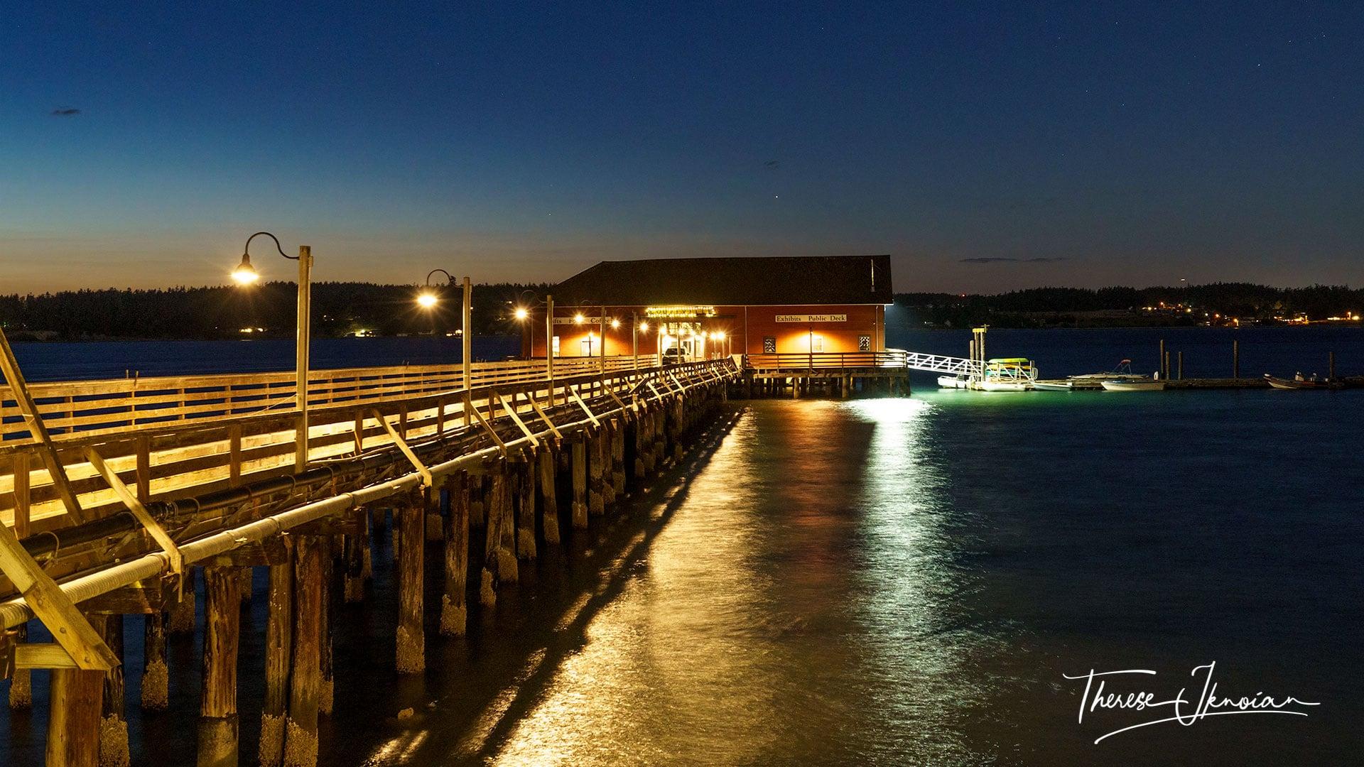 Whidbey Island Washington Coupeville Wharf