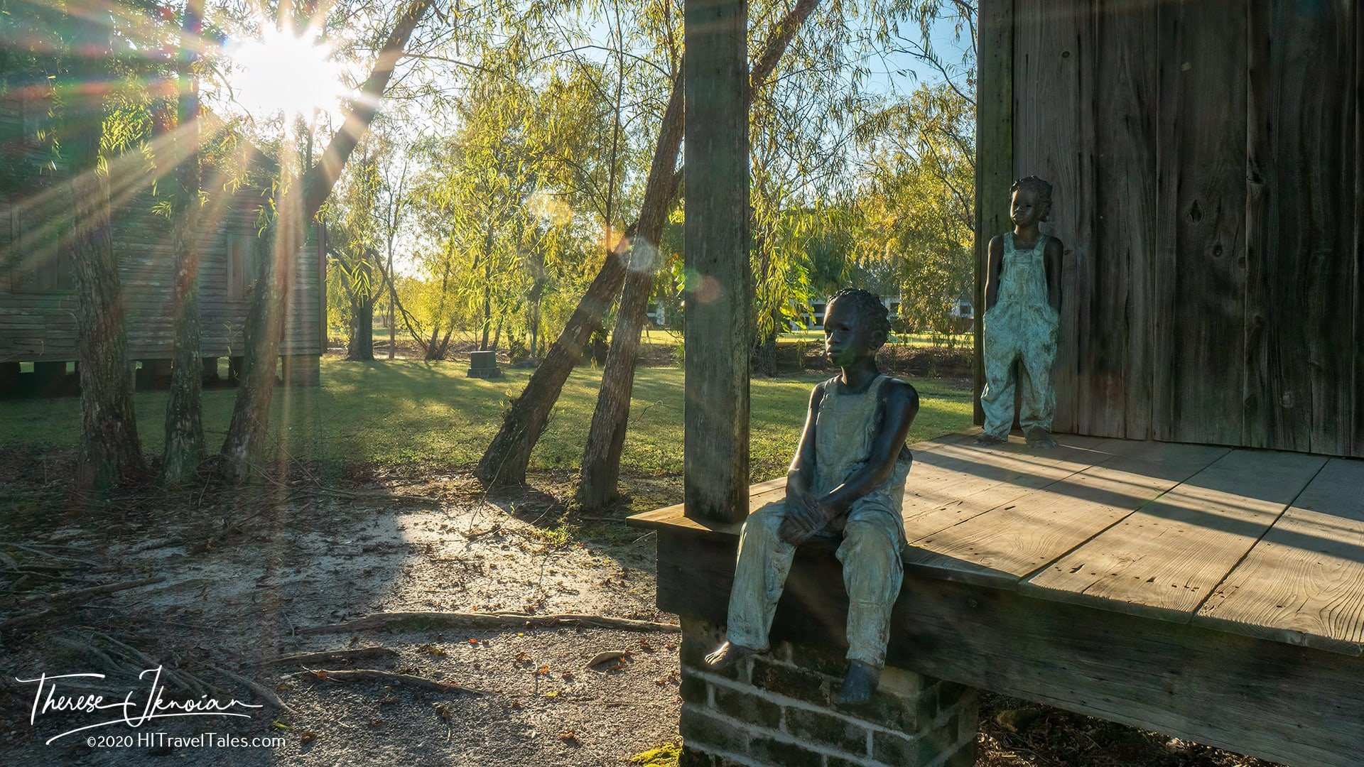 Whitney Plantation Slavery Museum Statues Cover