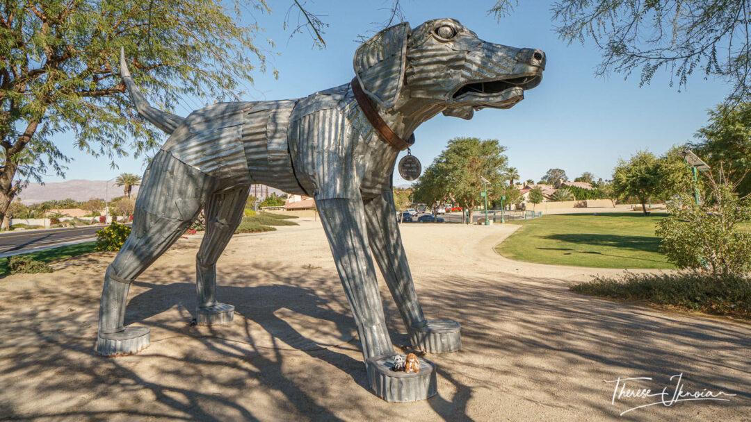 Yard Dog Coachella Public Art