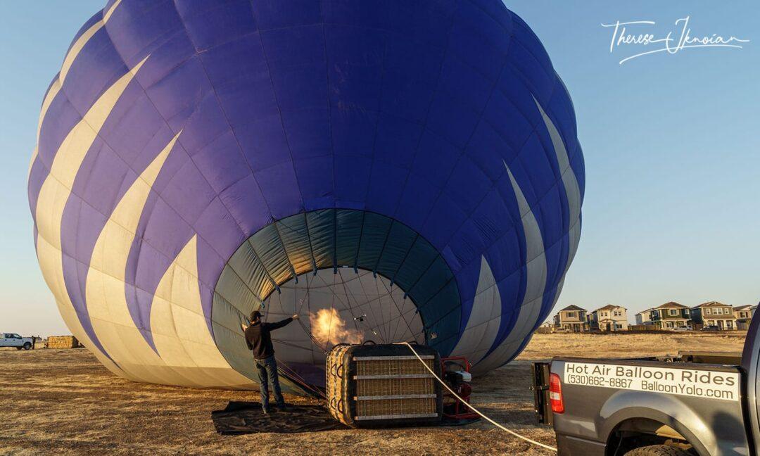 Yolo Balloon Adventures Sunrise Inflation