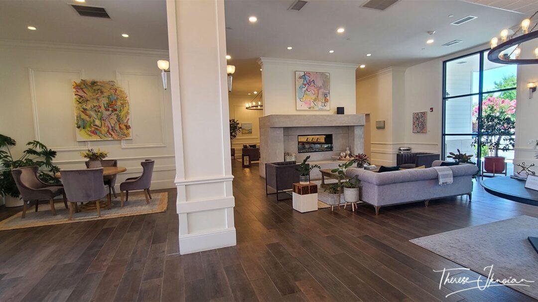 Yolo County Hotel Winters Lobby Brightness