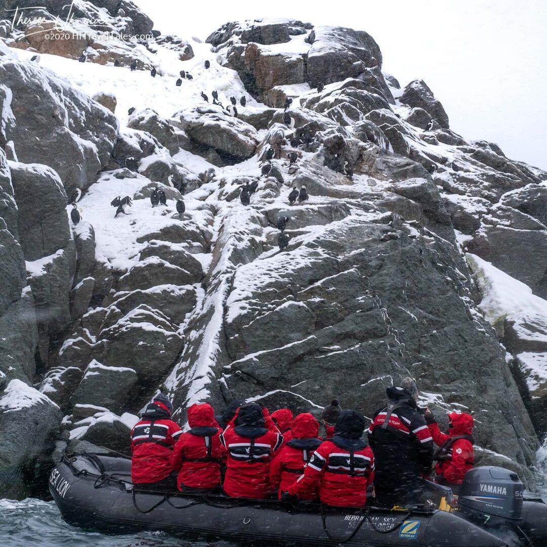 Antarctica Zodiac Cold