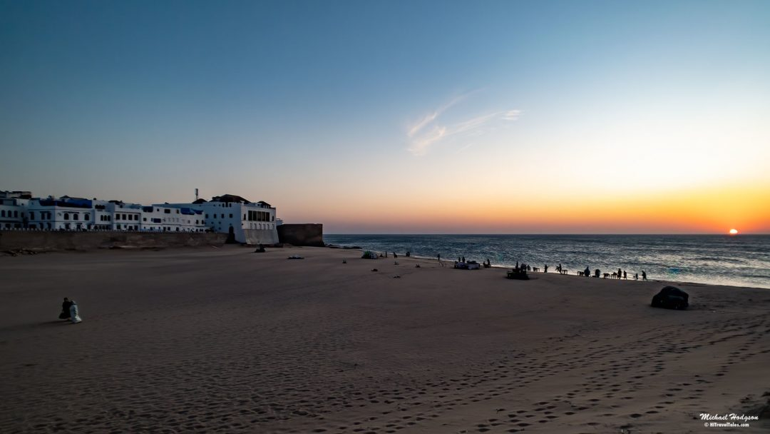 Sunset In Asilah Morocco