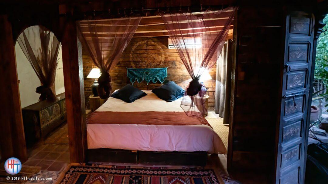 Bab El Oued Ecolodge La Nafaa Cottage Bed Inside