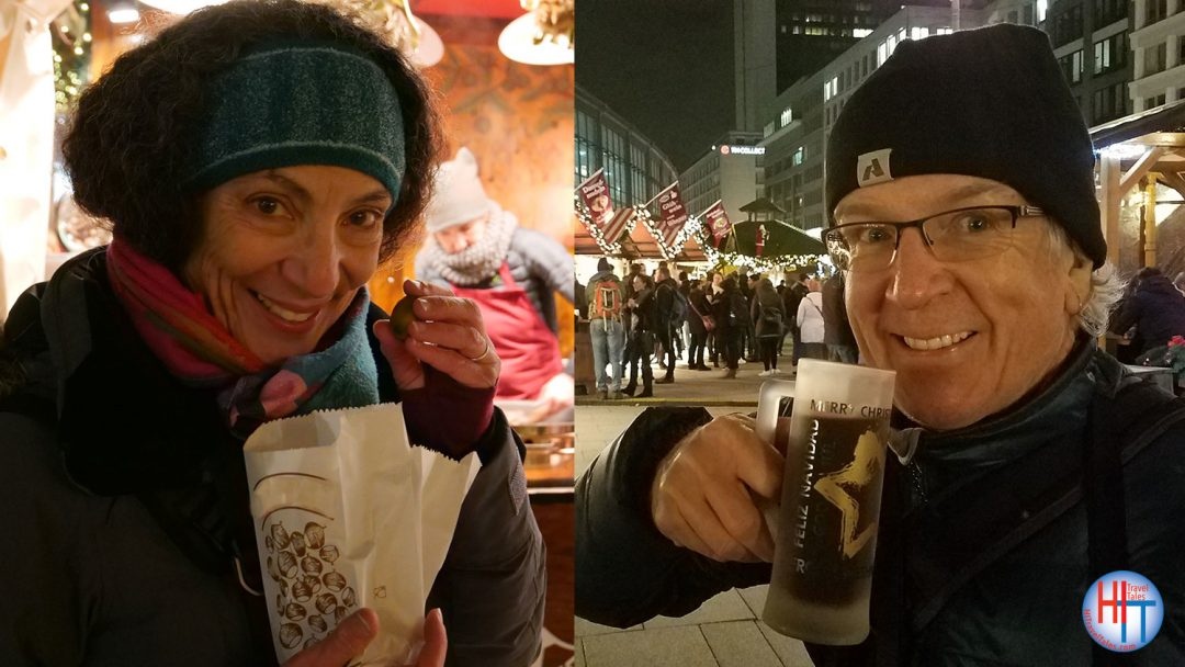 Michael And Therese Enjoying The Christmas Markets In Berlin