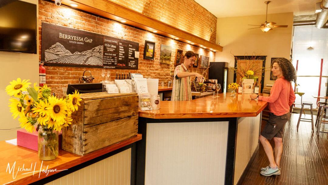 Berryessa Gap Winters Tasting Room