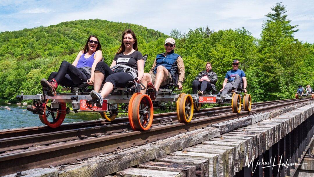 Best Railbike Adventure Revolution Rail Adirondacks