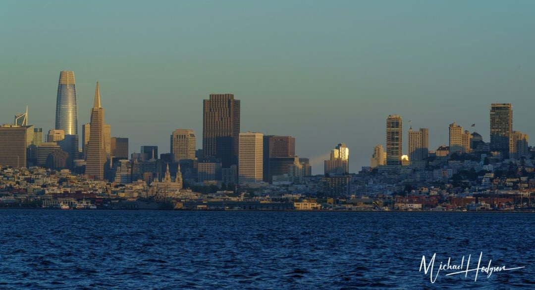 Best views in San Francisco on a sunset Adventure Cat sail