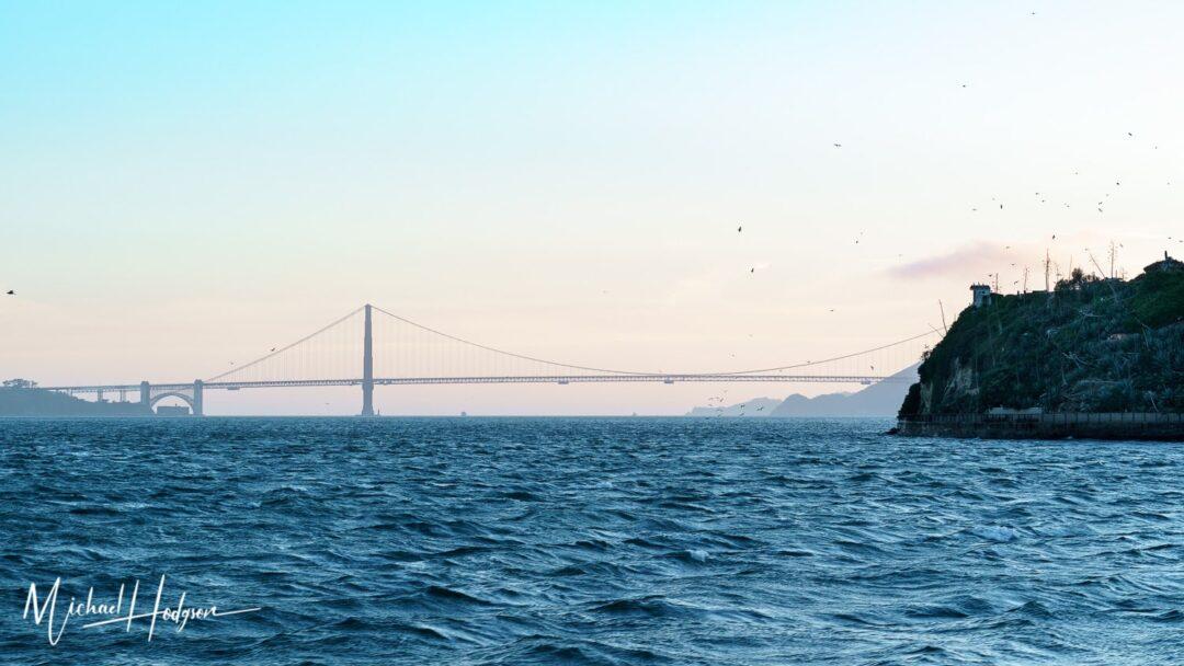 Best View In San Francisco Golden Gate Bridge Sunset
