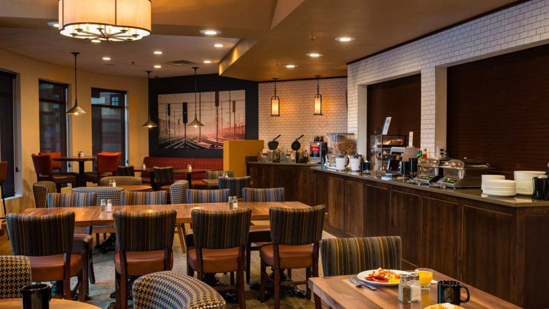 Best Western Premier Helena Great Northern Hotel Breakfast Room