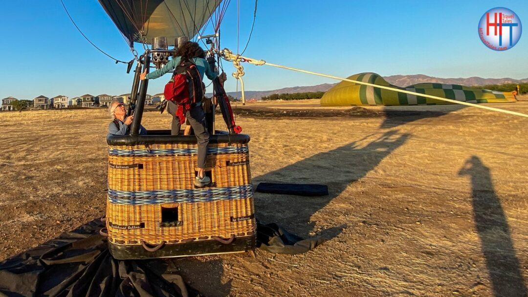 Boarding The Basket Yolo Ballooning Adventures