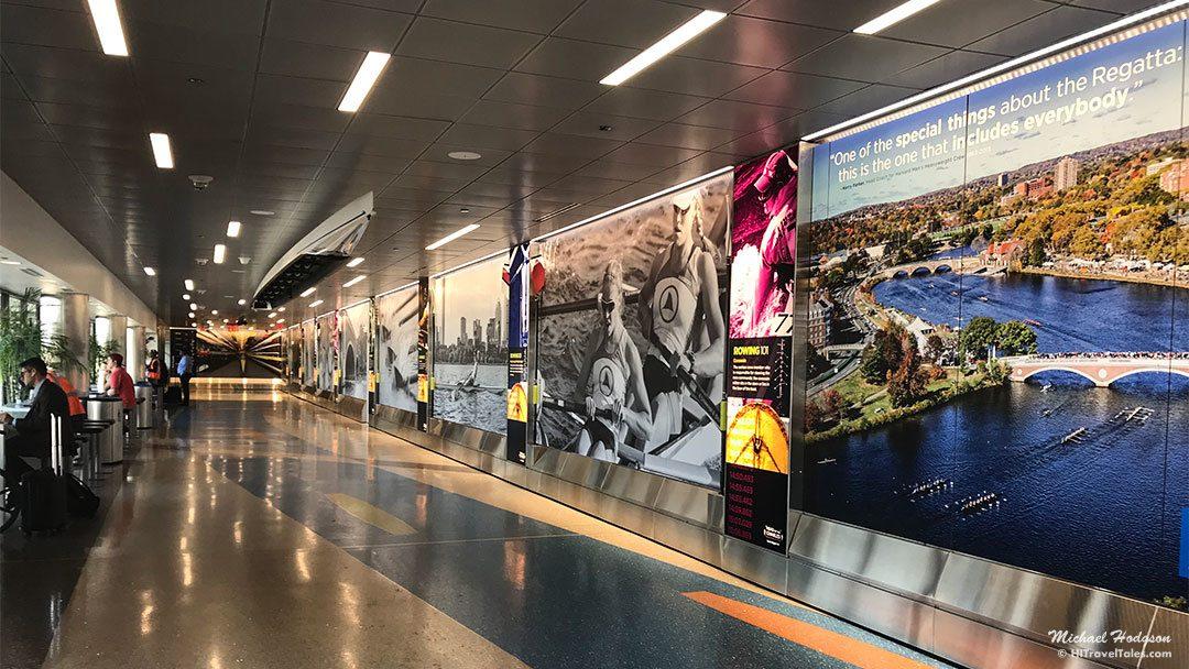 Boston Logan TerminalB Seating