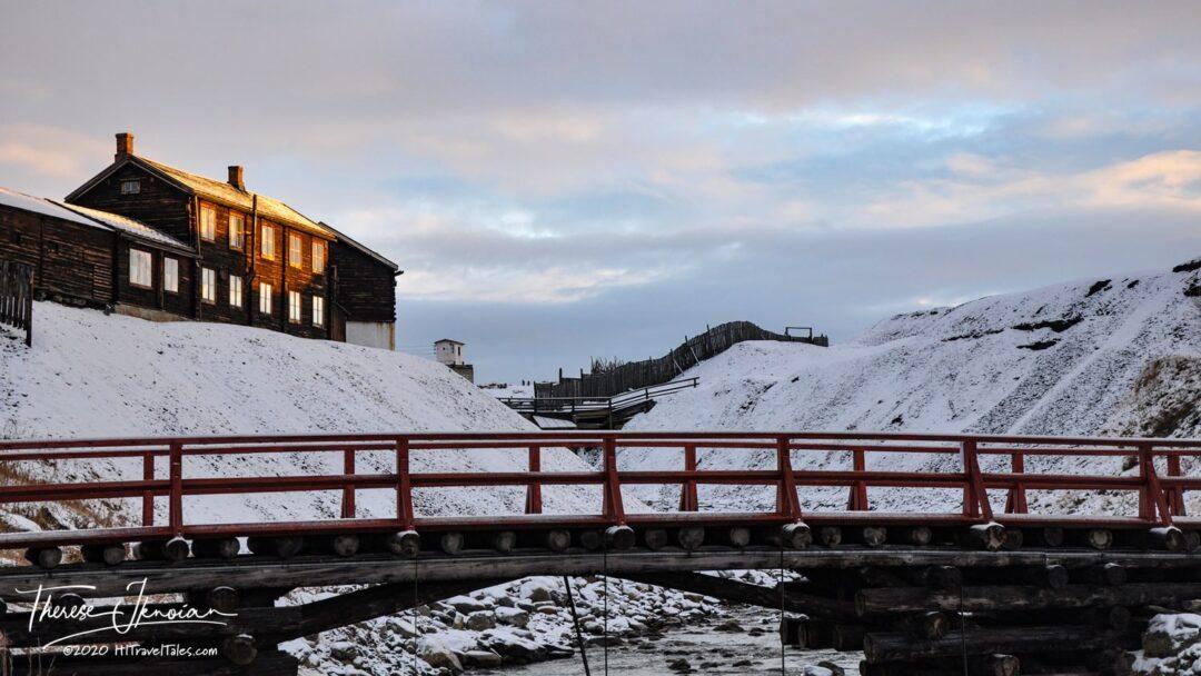Bridge Smelthyya Into Roros Norway