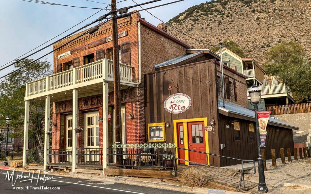 Cafe Del Rio Exterior Virginia City Nevada
