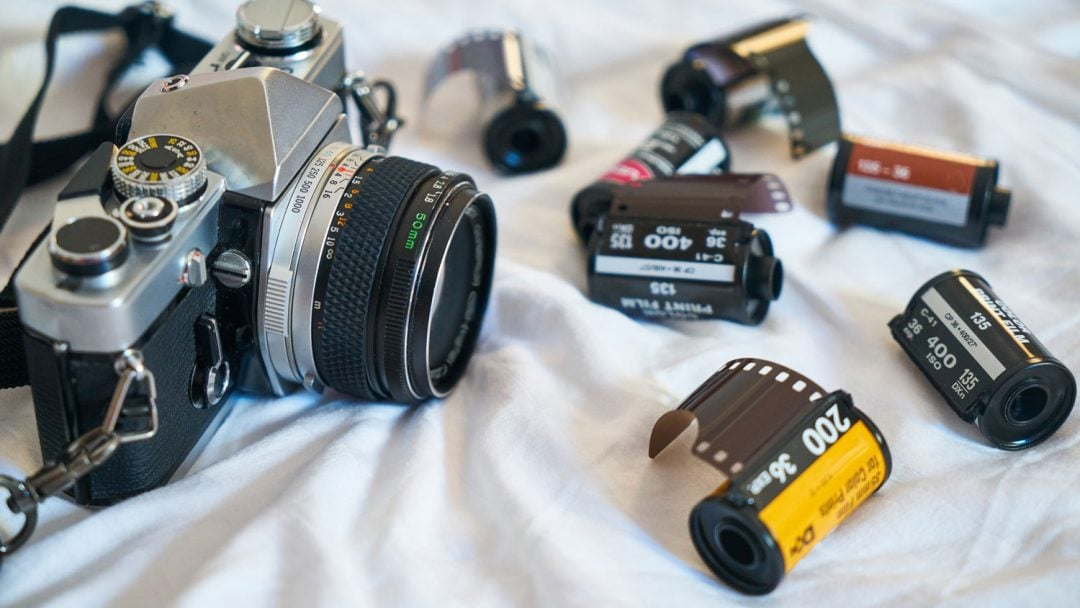 Camera Film Cannisters