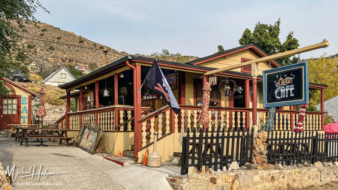 Canvas Cafe In Historic Virginia City Nevada