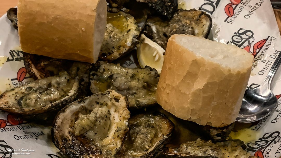 Charbroiled Oysters on the Louisiana Oyster Trail