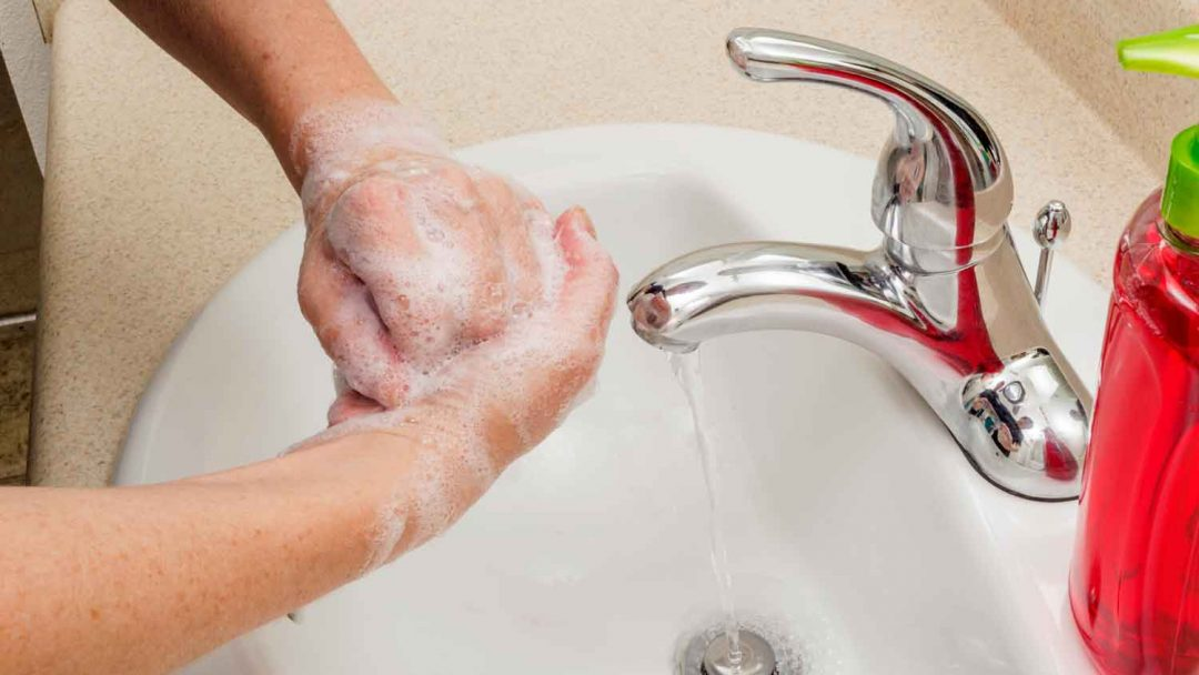 Cleaning Hands Good Hygiene Traveling In The Age Of Coronavirus