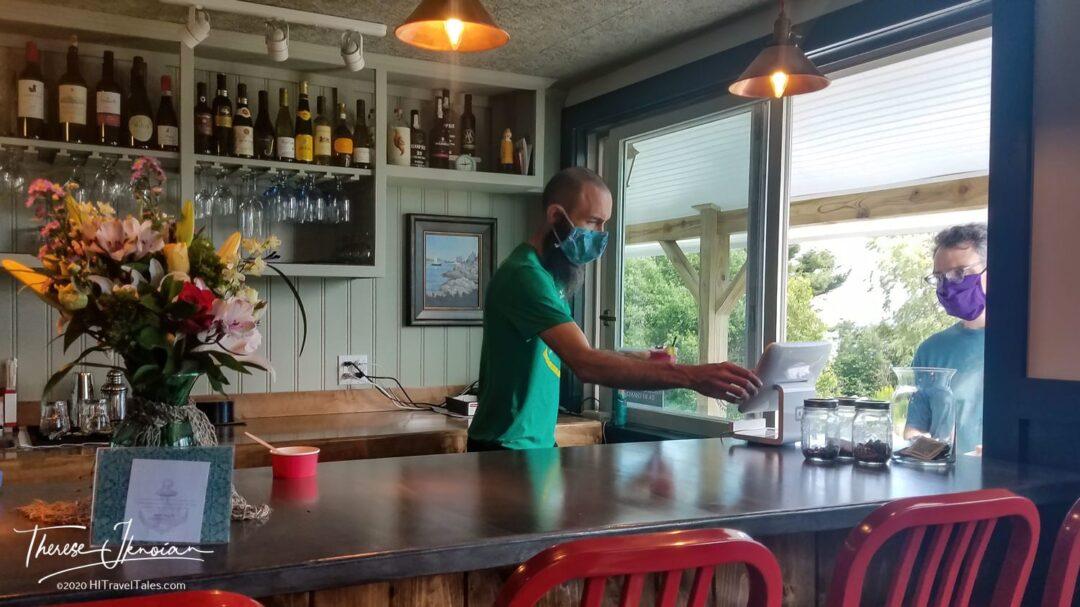 Craignair Inn Bar And Ice Cream Served Through Window