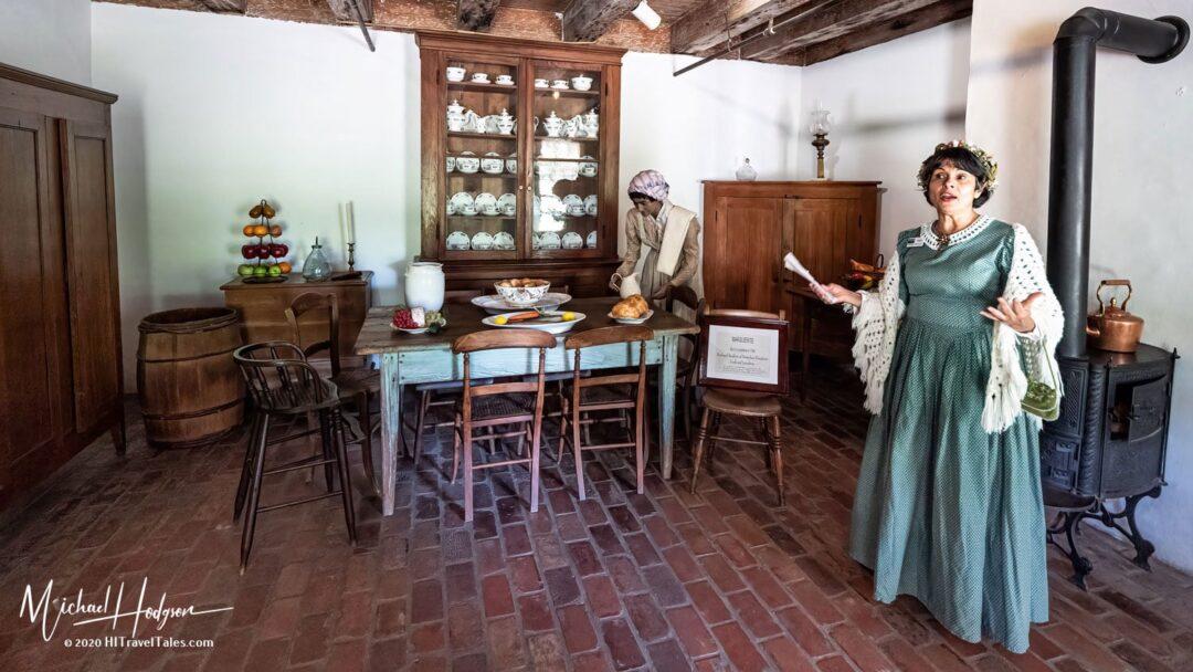 Slave Marguerite Inside Destrehan Plantation In Plantation Count