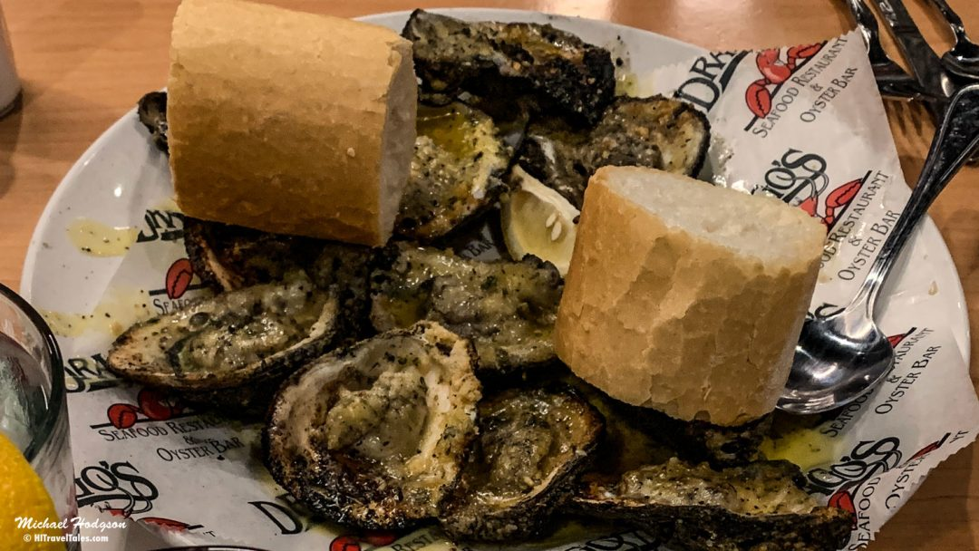 Dragos Charbroiled Oysters on the Louisiana Oyster Trail