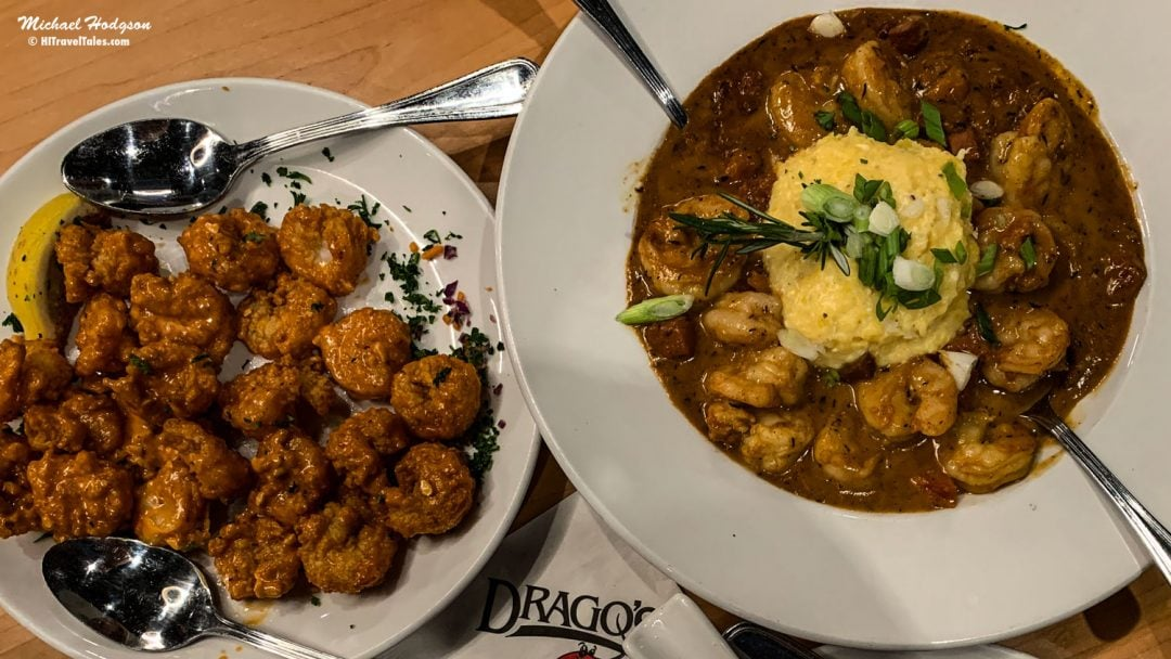 Shrimp N Grits At Drago's