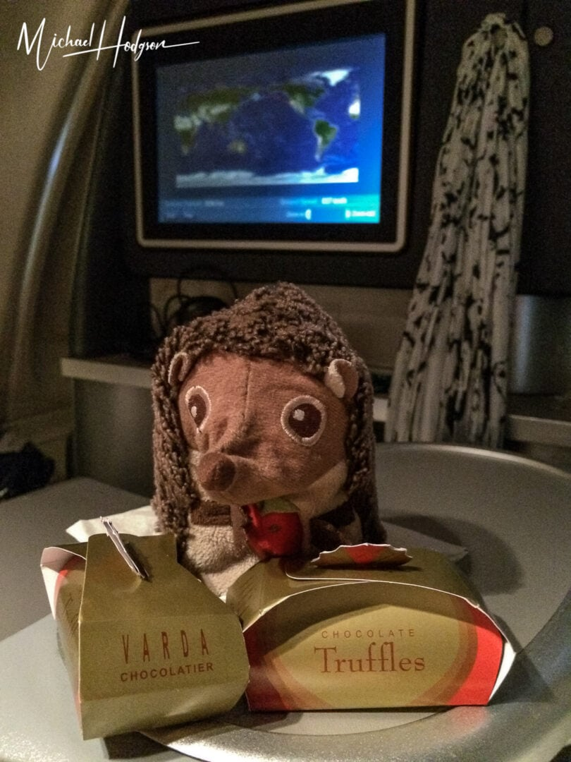 Elba In Business Class With Truffles