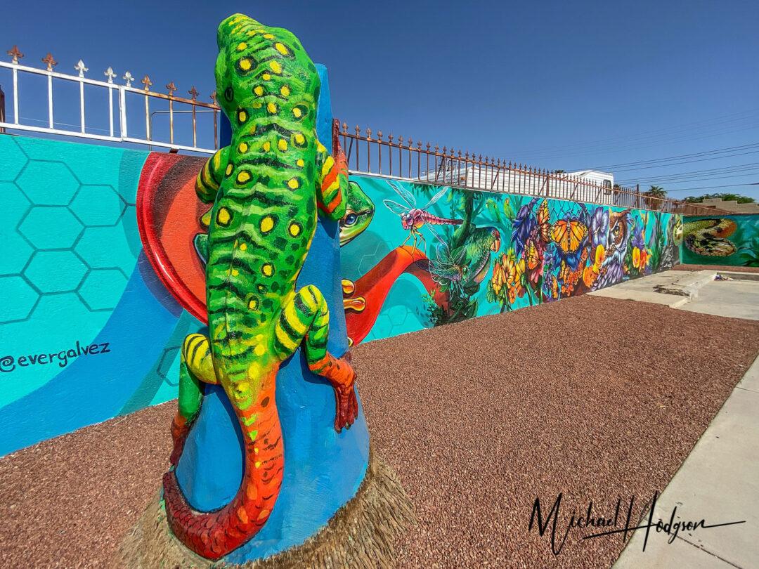 Evergalvez Artist Nature Mural Coachella