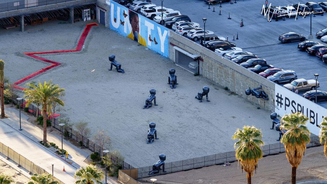 Fault Line Babies Public Art Palm Springs