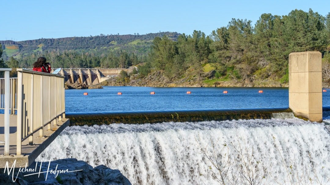 Feather River Fish Hatchery Oroville Dam Overlook
